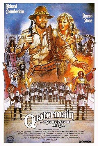Allan Quatermain a Stratené Mesto Zlata