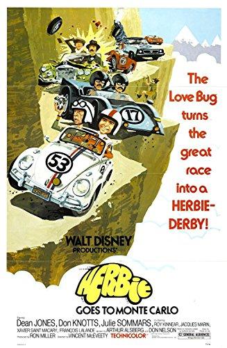 Herbie cestuje do Monte Carla