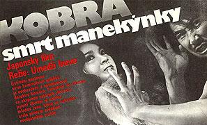 Kobra - smrť manekýnky