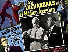 Luchadoras contra el médico asesino, Las