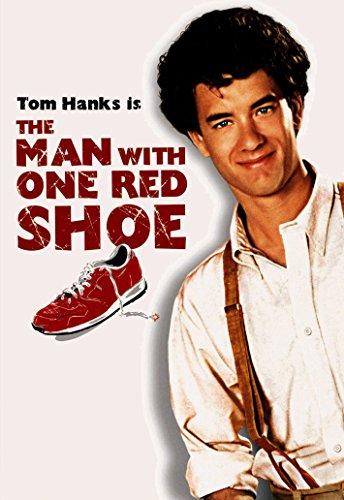 Muž s červenou topánkou
