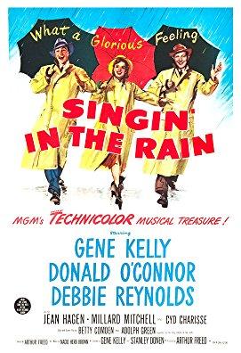 Spievanie v daždi