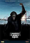 Zrození planety opic (The Rise of the Planet of the Apes) - český trailer 1