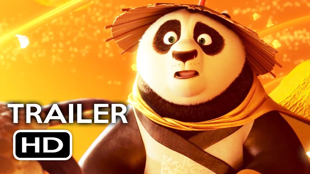 Kung Fu Panda 3 Official Trailer #3 (2016) Jack Black, Angelina Jolie Animated Movie HD