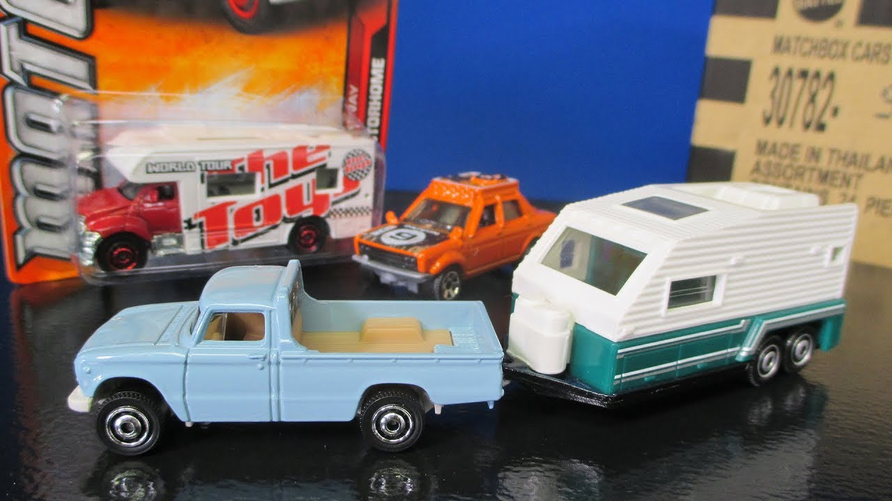 2017 L Matchbox Case Unboxing Video with Datsun and Nissan New Models with fun toy trucks
