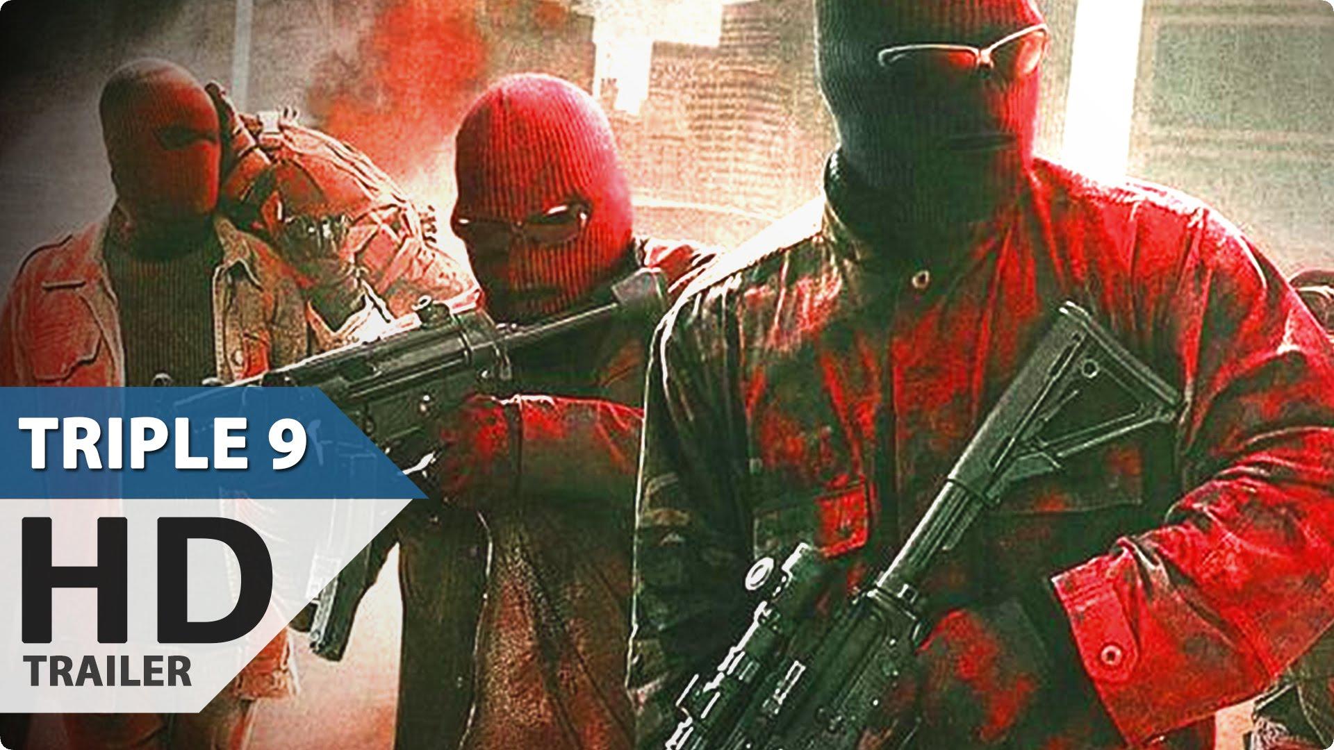 Triple 9 Red Band Trailer (2016) Aaron Paul, Norman Reedus, Anthony Mackie | Heist Movie