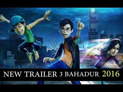 3 Bahadur Official Trailer - ARY Films