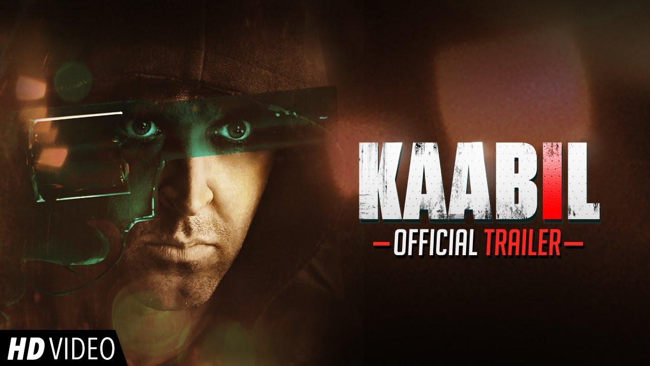 Kaabil Official Trailer | Hrithik Roshan | Yami Gautam | 25th Jan 2017