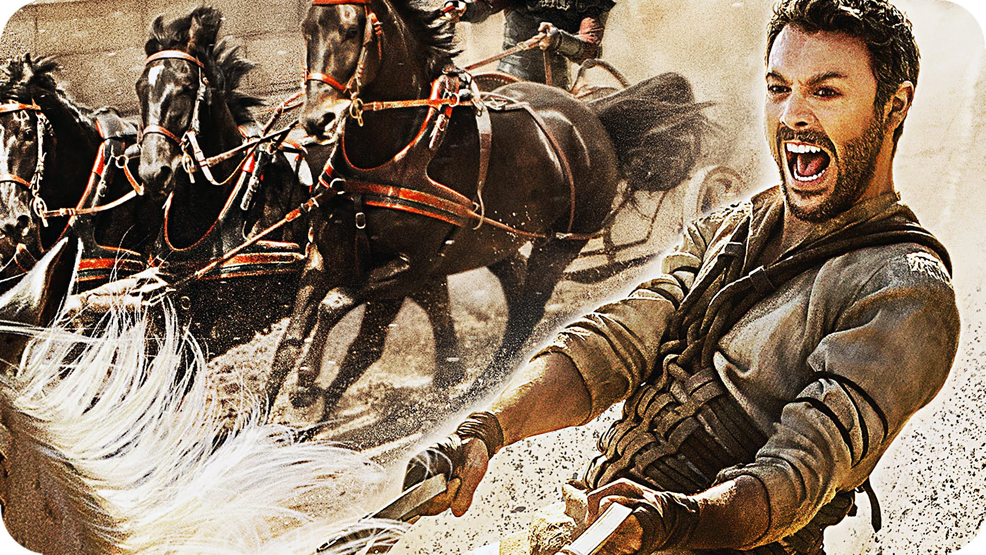 BEN HUR Trailer 2 & Featurette Chariot Race (2016)