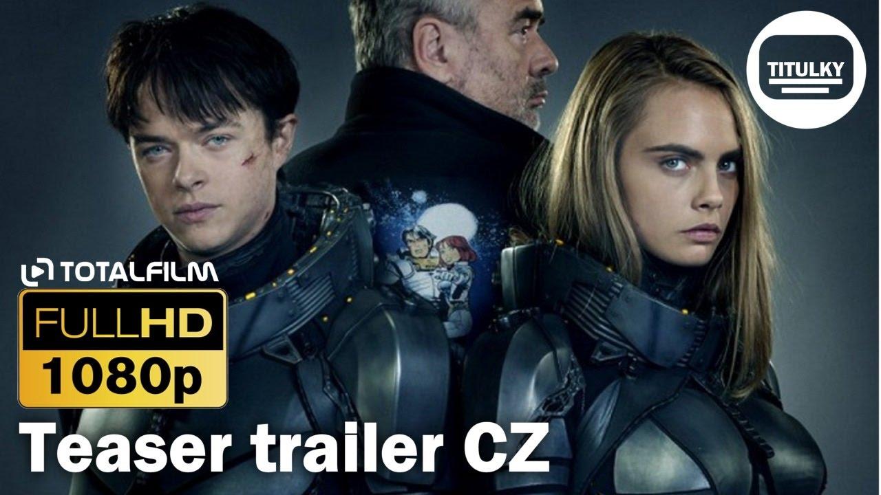 Valerian a město tisíce planet (2017) CZ HD teaser trailer