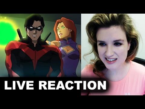 Teen Titans The Judas Contract Trailer REACTION