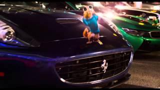 Alvin a Chipmunkovia: Čiperná jazda - oficiálny trailer