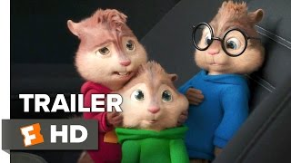 Alvin and the Chipmunks: The Road Chip Official Trailer #1 (2015) - Animated Movie HD