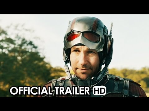 Ant-Man Official Trailer #1 (2015) - Paul Rudd Marvel Movie HD