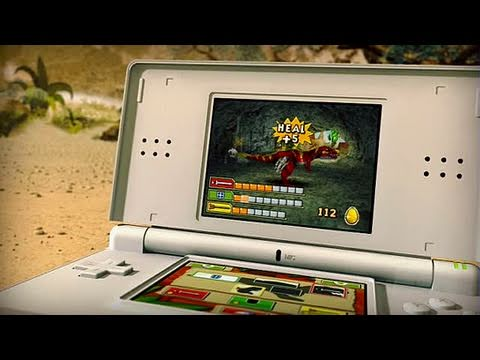 Battle of Giants: Dinosaurs Nintendo DS Trailer - GC 2008: