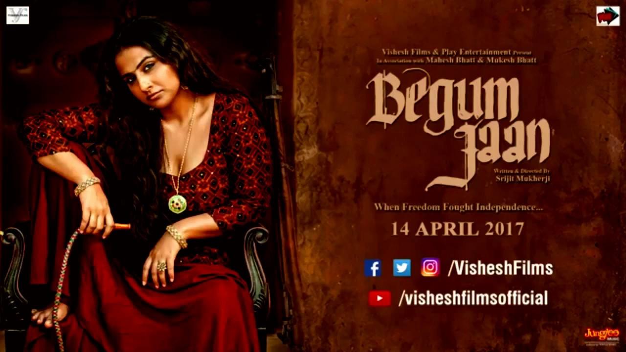 Begum Jaan Official Trailer 2017 Vidya Balan