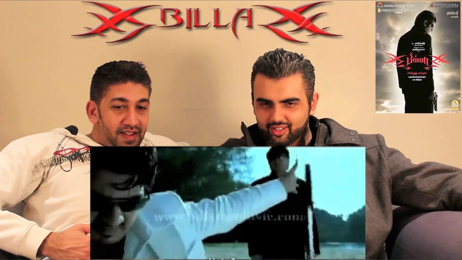 Billa Trailer Reaction | Ajith Kumar, Prabhu, Nayantara
