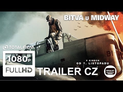 Bitva u Midway (2019) CZ HD trailer