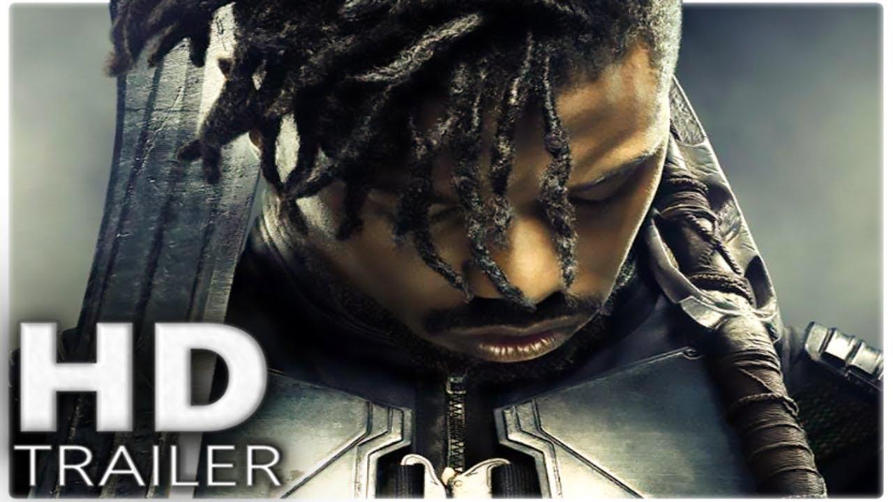 BLACK PANTHER New Trailer (2018) Marvel