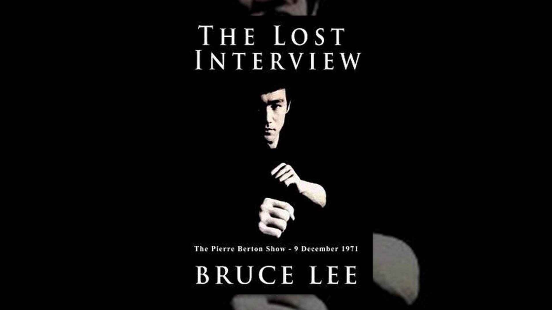 BRUCE LEE, THE LOST INTERVIEW - full movie / EN