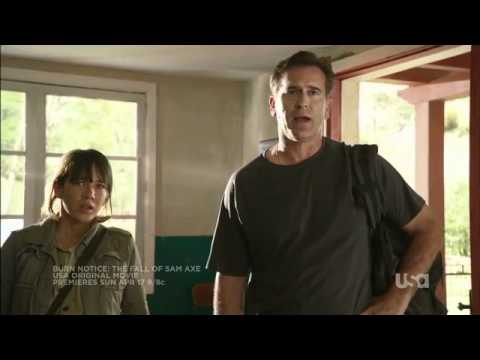 """Burn Notice: The Fall of Sam Axe"" - Trailer"