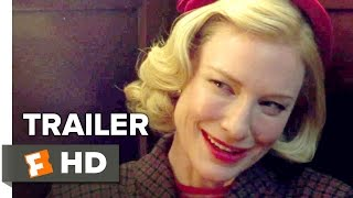 Carol Official US Trailer #1 (2015) - Rooney Mara, Cate Blanchett Romance Movie HD