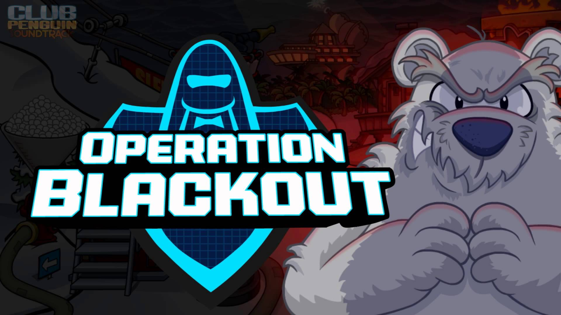 Club Penguin Music OST: Operation Blackout Main Rooms Theme 2012