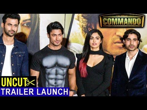 Commando 2 | Official Trailer Launch | Vidyut Jammwal | Adah Sharma | Esha Gupta | Full Event UNCUT