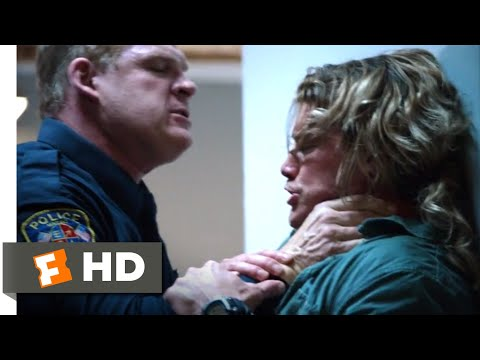 Countdown (2016) - Punching Out of the Precinct Scene (3/5) | Movieclips