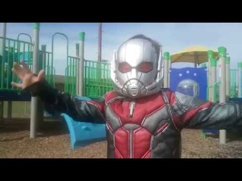 Danger at the Park Trailer  - Starring Reagan Meadows As Ant Man - Coming in 2018