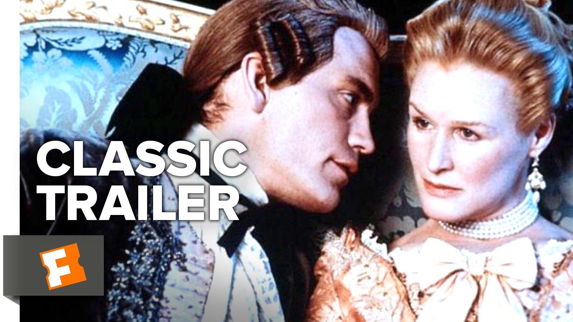 Dangerous Liaisons (1988) Official Trailer - Glenn Close, John Malkovich Movie HD