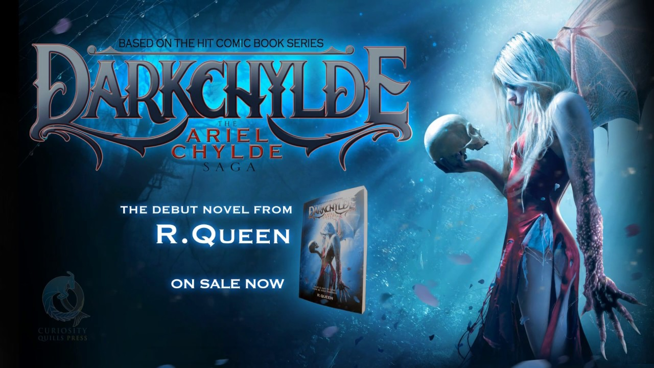 Darkchylde: The Ariel Chylde Saga by R.Queen Book Trailer Official