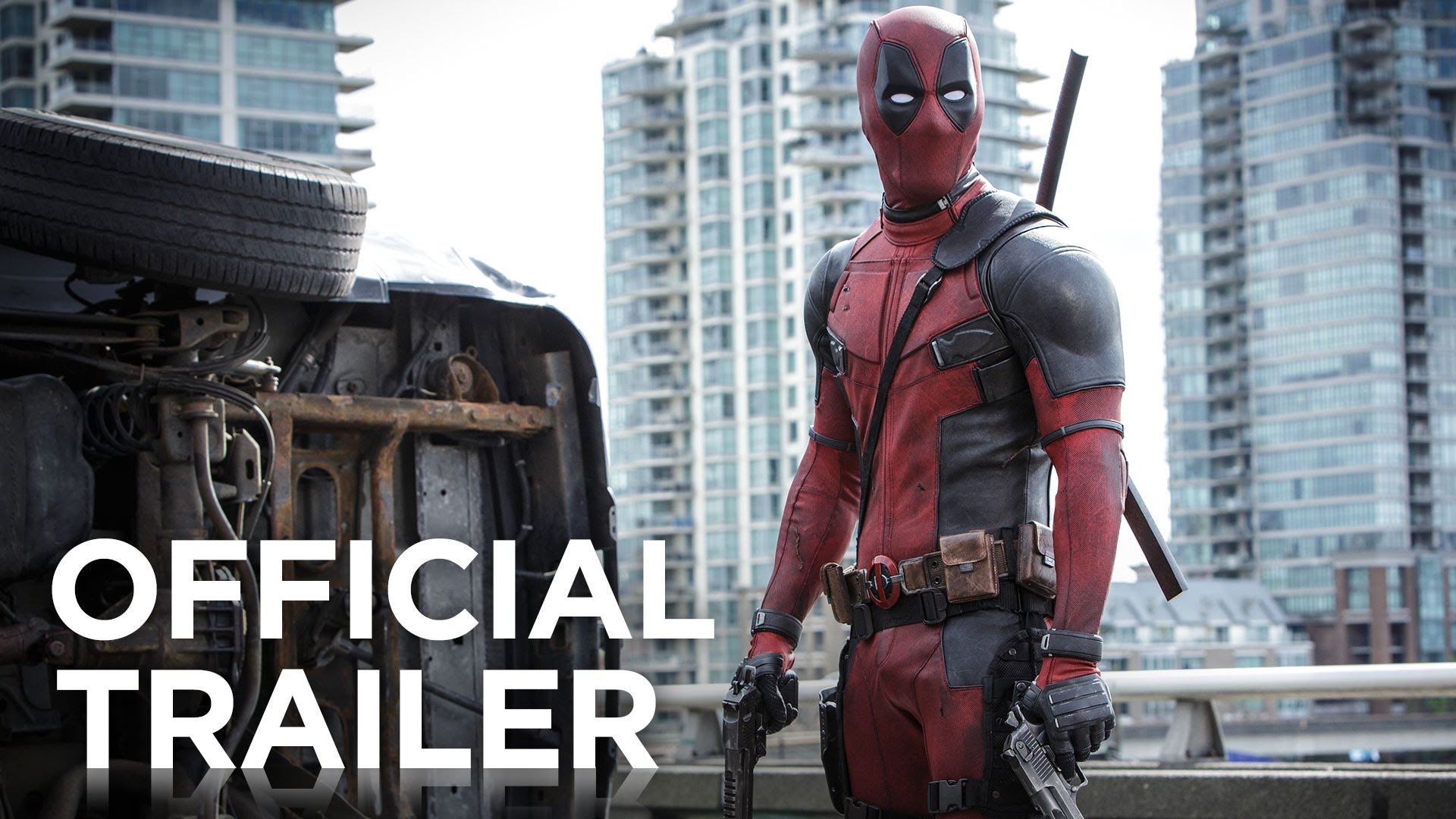 Deadpool   Official HD Trailer #1   2016