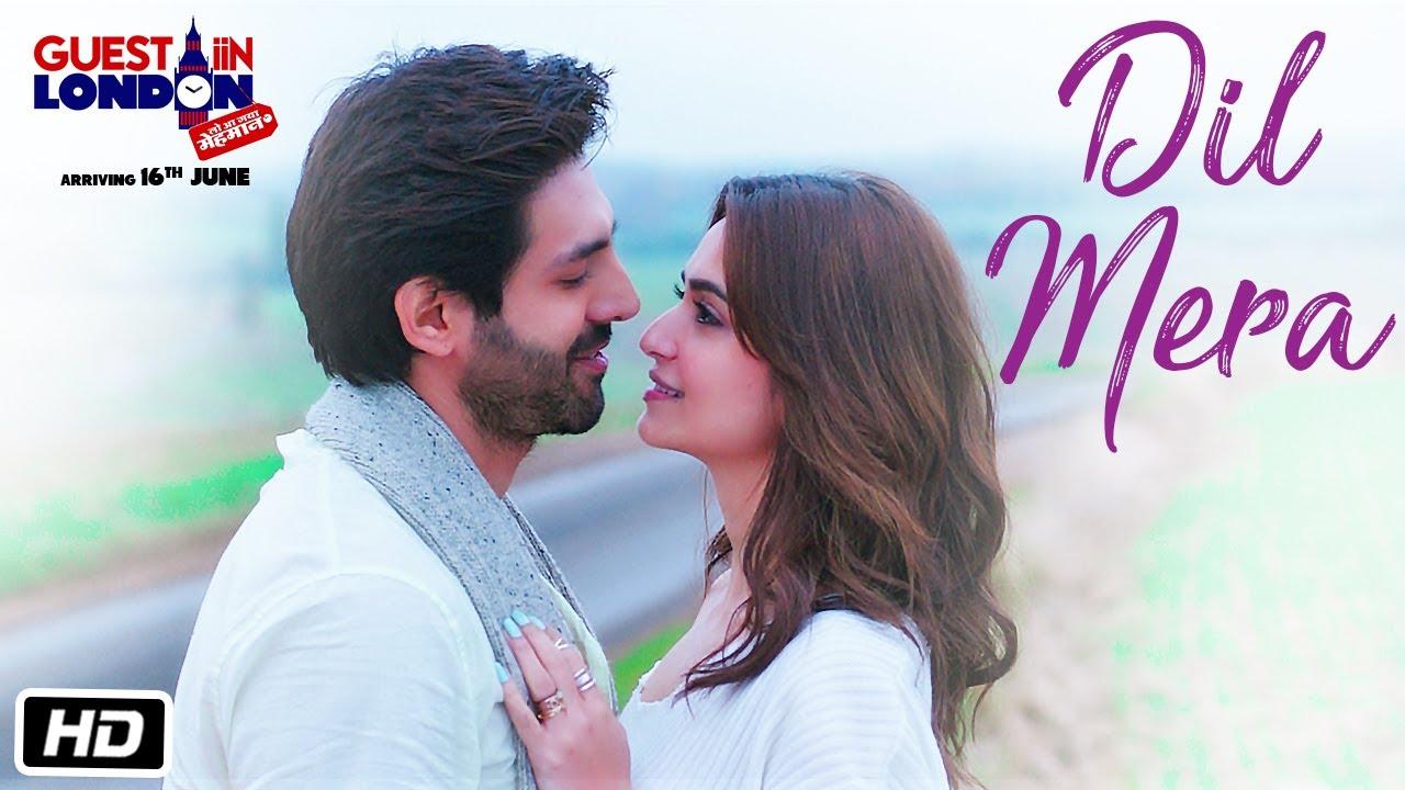 Dil Mera Song (Video)  | Guest iin London | Kartik Aaryan, Kriti Kharbanda | Raghav Sachar