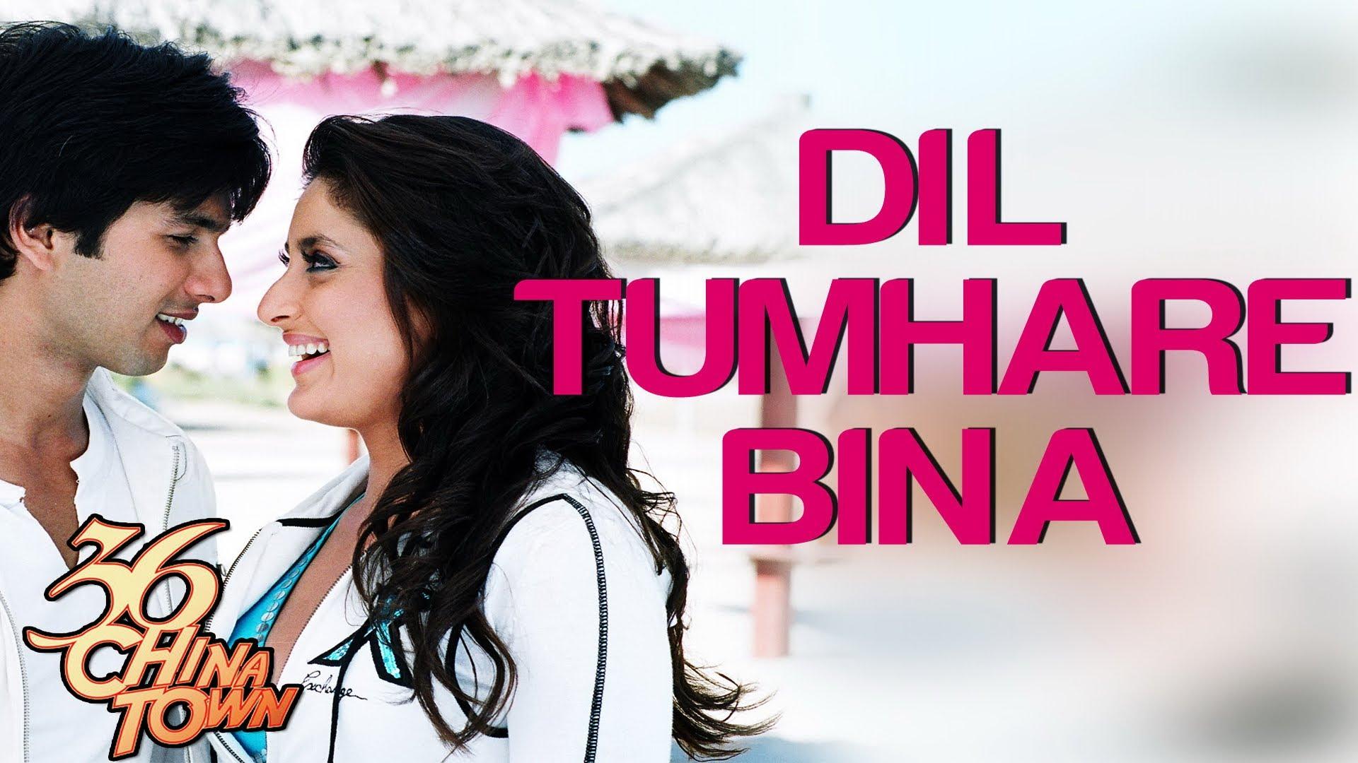 Dil Tumhare Bina - 36 China Town   Shahid & Kareena   Himesh Reshammiya & Alka Yagnik