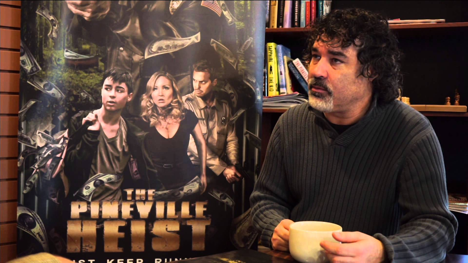 Director Lee Chambers The Pineville Heist heads to cinemas April 6th Thunder Bay