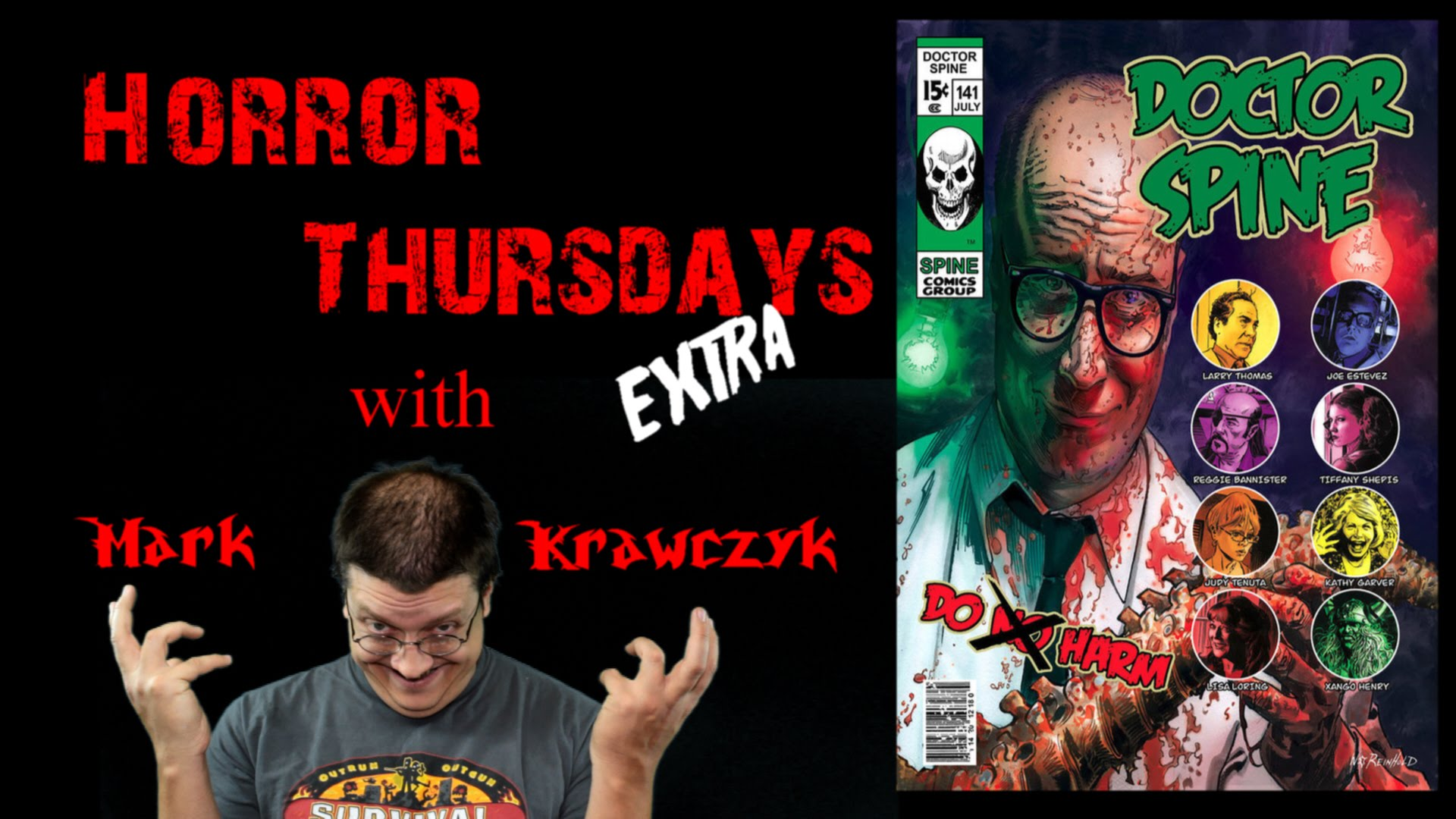 Doctor Spine Movie Review Horror Thursdays Extra