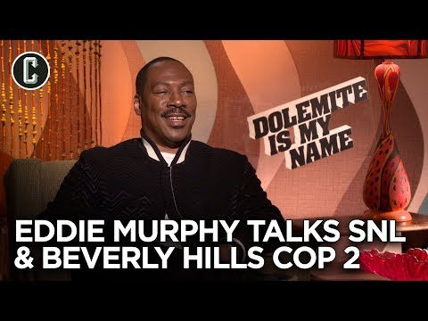 Eddie Murphy on Beverly Hills Cop 4 and Returning to Saturday Night Live