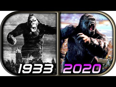 EVOLUTION of KING KONG in Movies (1933-2020) Godzilla vs Kong trailer movie scene leaked footage
