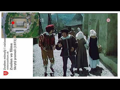 Zvolen vo filmoch - Skrytý prameň (1973)