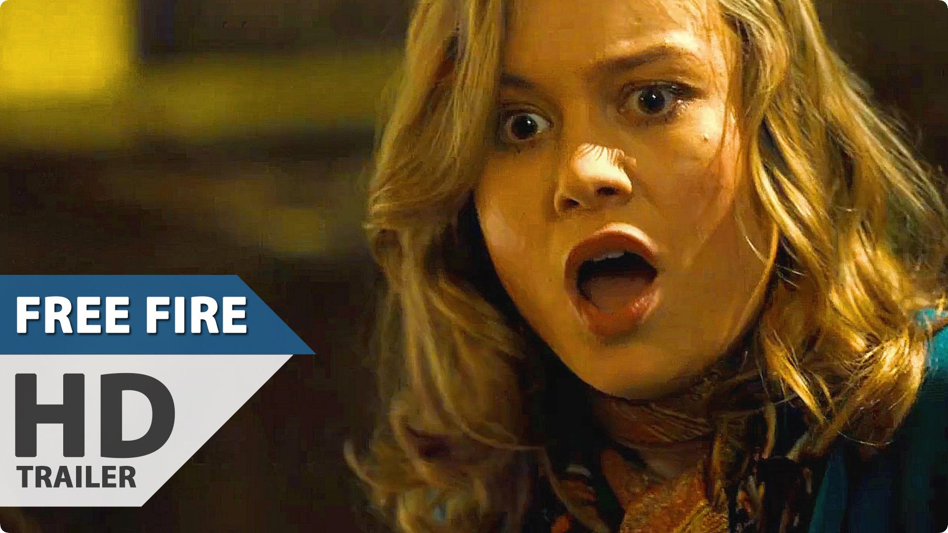 FREE FIRE Red Band Trailer (2016) Brie Larson Movie