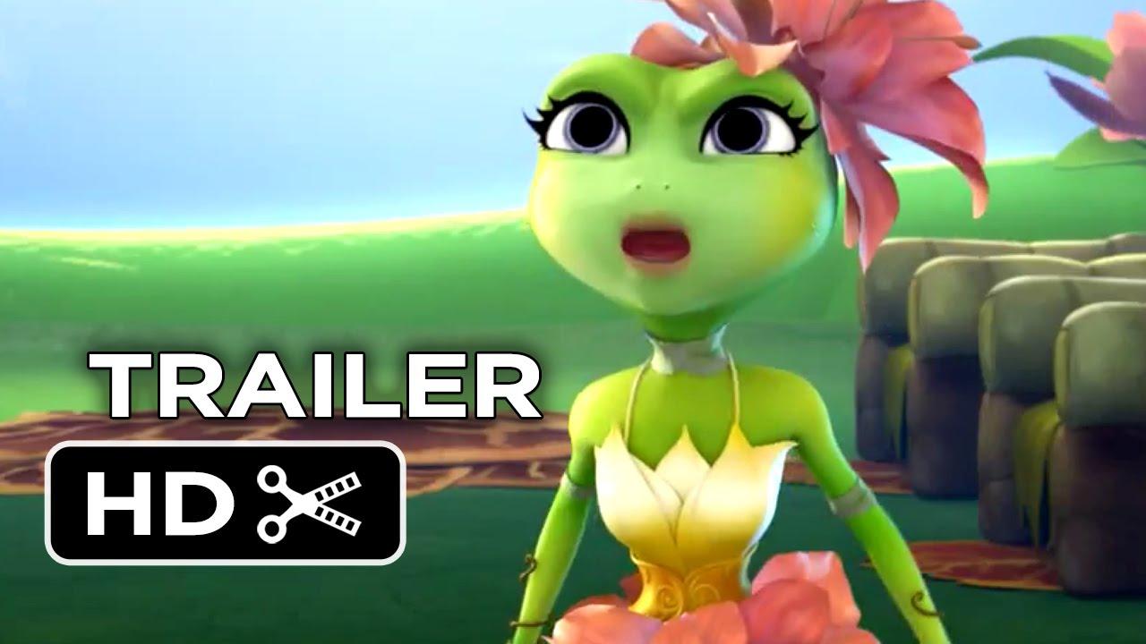 Frog Kingdom Official Trailer 1 (2015) - Rob Schneider Animated Movie HD