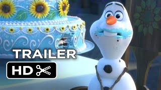 Frozen Fever Official Trailer #1 (2015) - Disney Animated Short Film HD