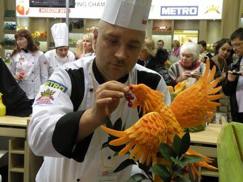 Fruit & Vegetable carving course - trailer / Kurs carvingu za darmo - zwiastun