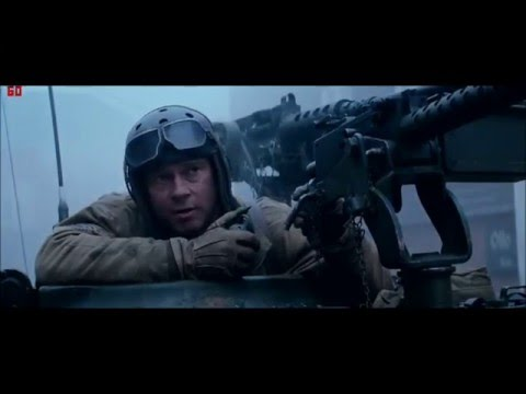 Fury -  trailer (Železná srdce) 2014
