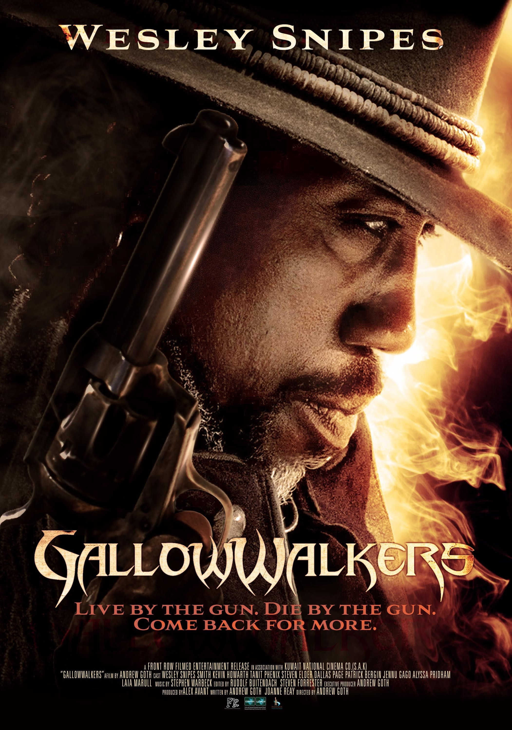 Gallowwalkers Official Trailer (2013) Wesley Snipes Zombie Movie HD