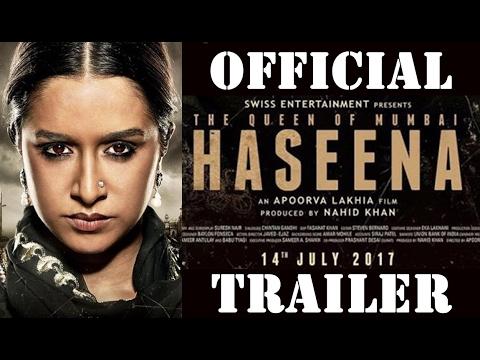 Haseena : The queen of mumbai | trailer 2017 | sradhha kapoor