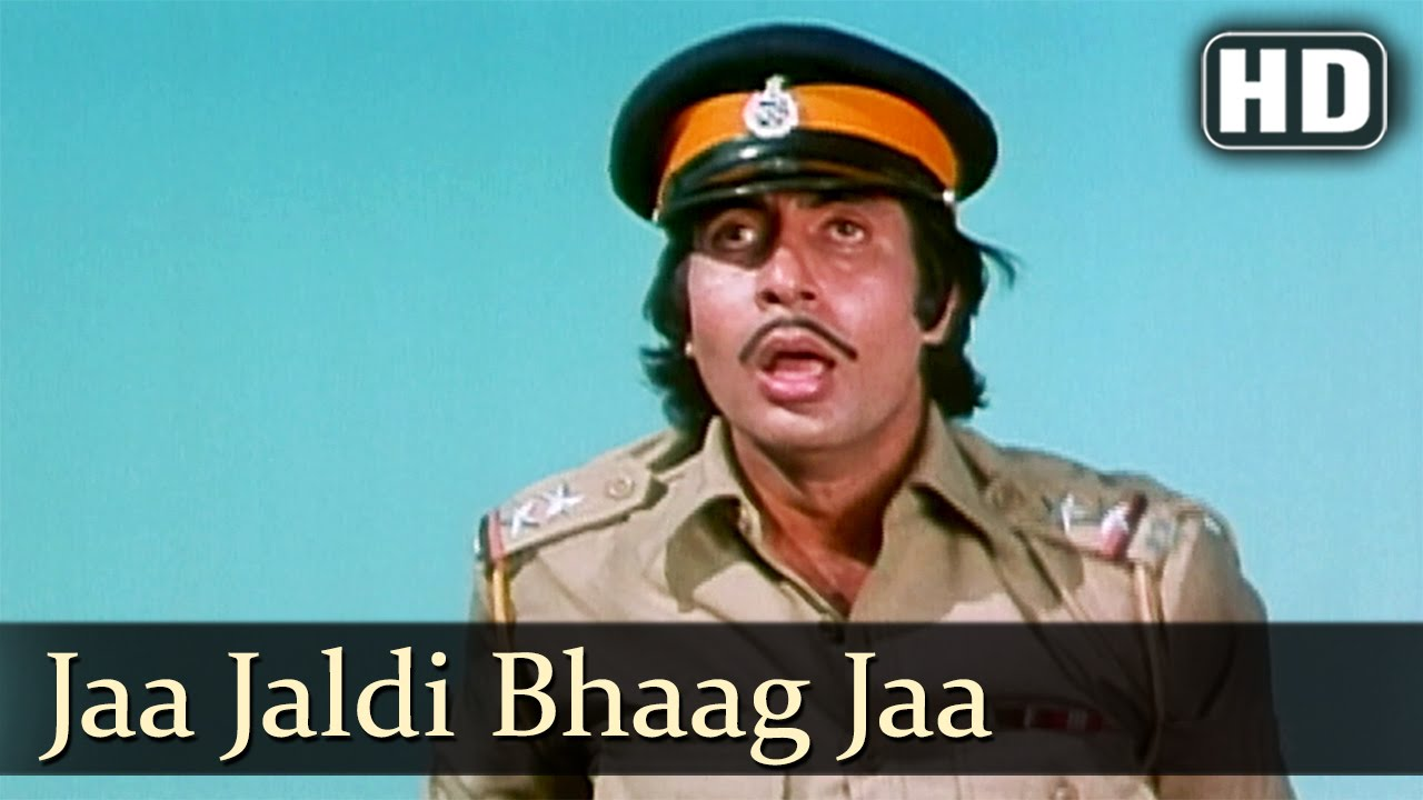 Jaa Jaldi Bhaag Jaa - Desh Premee Songs - Amitabh Bachchan - Navin Nischol - Kishore Kumar