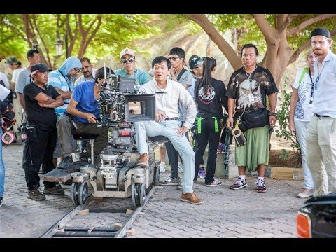 Jackie Chan Shoots With Sylvester Stallone For Ex-Baghdad In Abu Dhabi