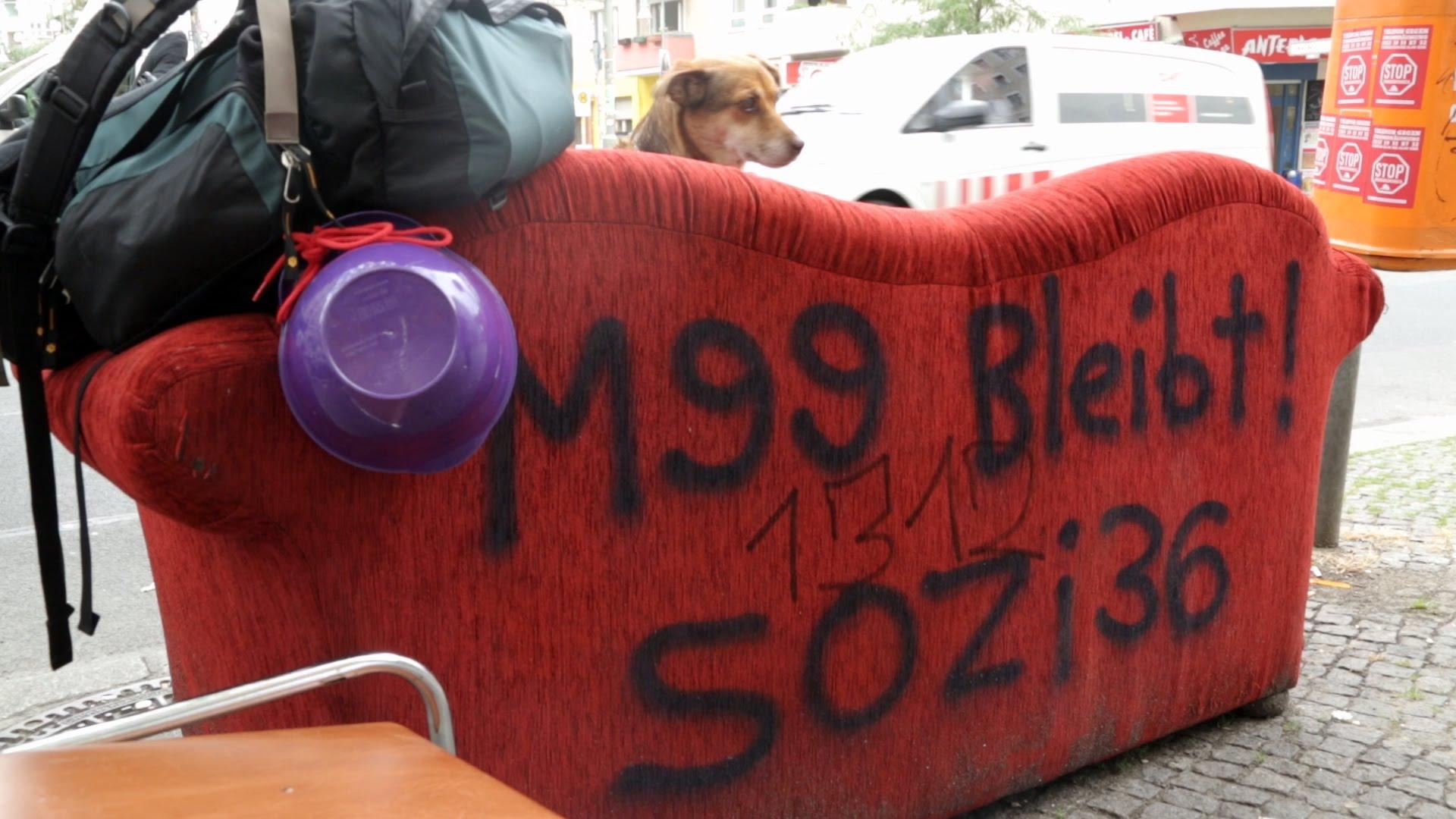 Keine Zwangsräumung des Revolutionsbedarfsladens M99